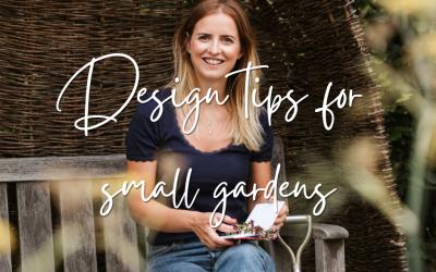 Design tips for small gardens