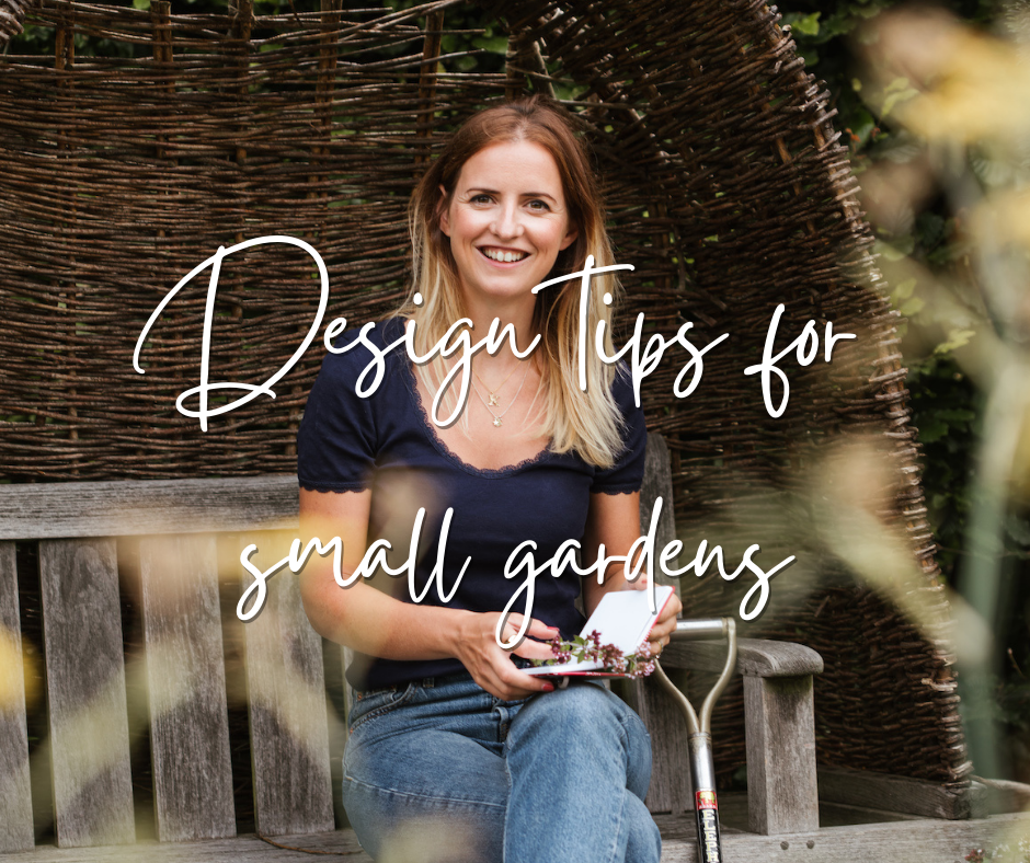 Design tips for small gardens, informative blog by Katie Rushworth