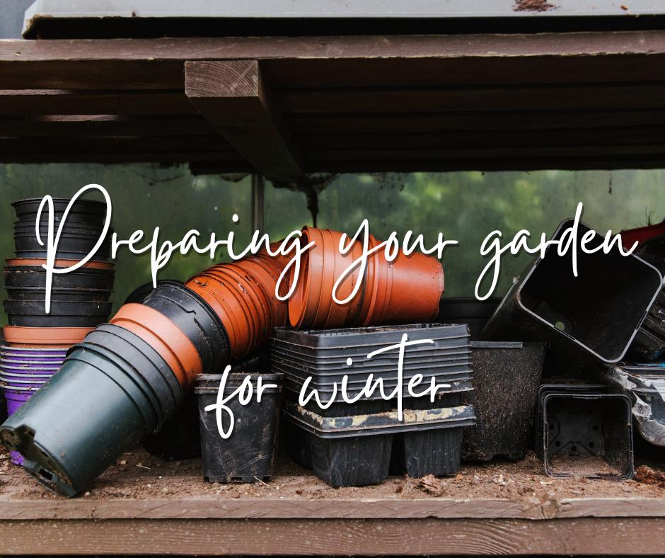 Preparing your garden for winter - autumn jobs for your garden